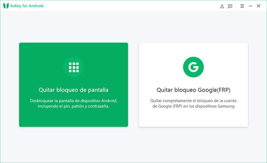 programa para desbloquear android desde pc