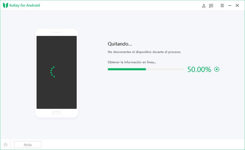 eliminando bloqueo de pantalla android
