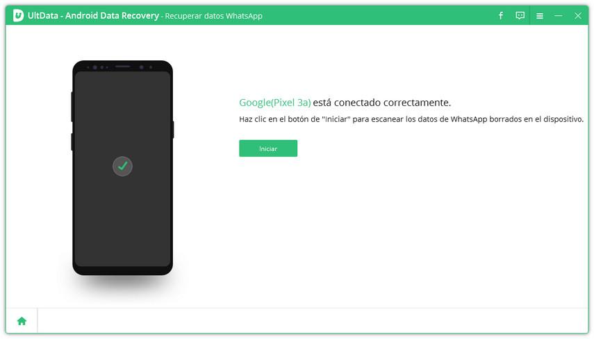 android se ha conectado correctamente
