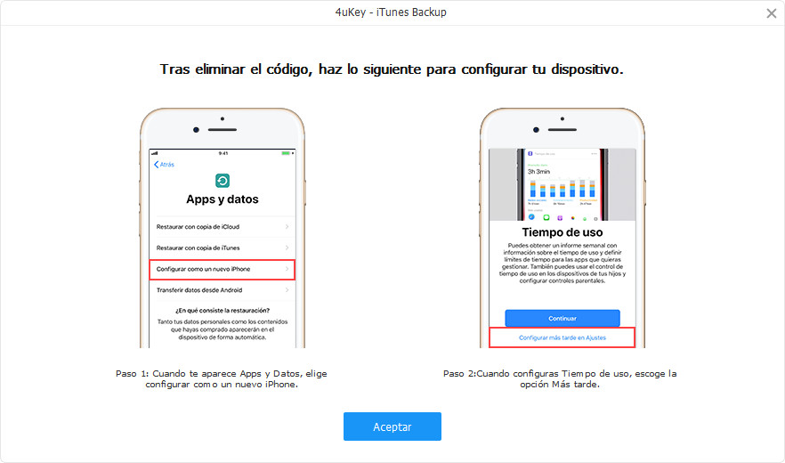 configurar iphone