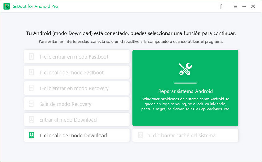 android ya está en modo download