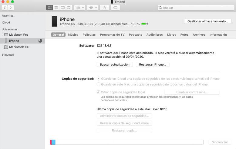 abrir icloud en mac