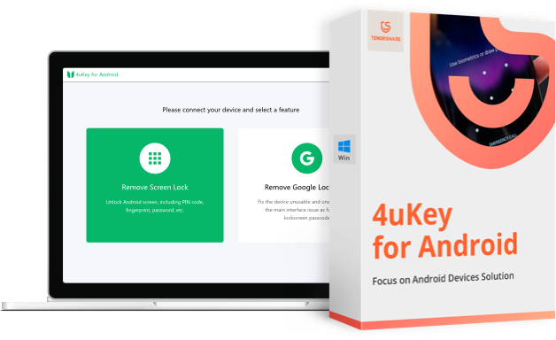 4ukey para android producto logo