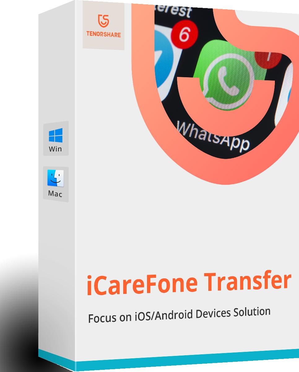 Tenorshare iCareFone Transferencia WhatsApp