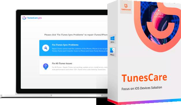 tunescare mac producto logo
